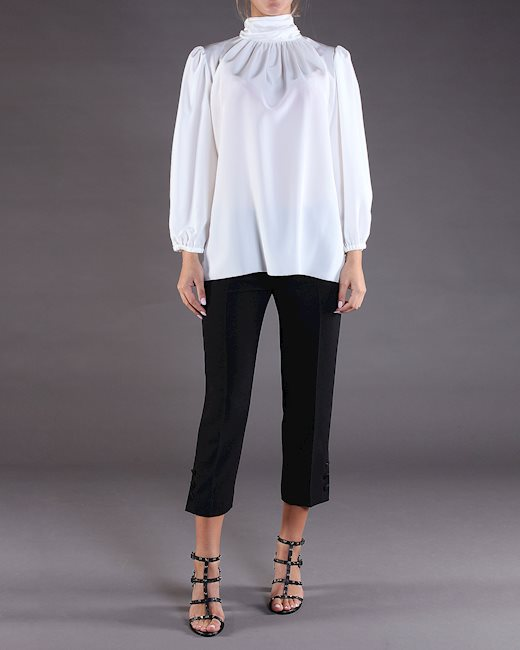 f71438f1e6087d DOLCE & GABBANA White blouse - Artishock Luxury and exclusive fashion