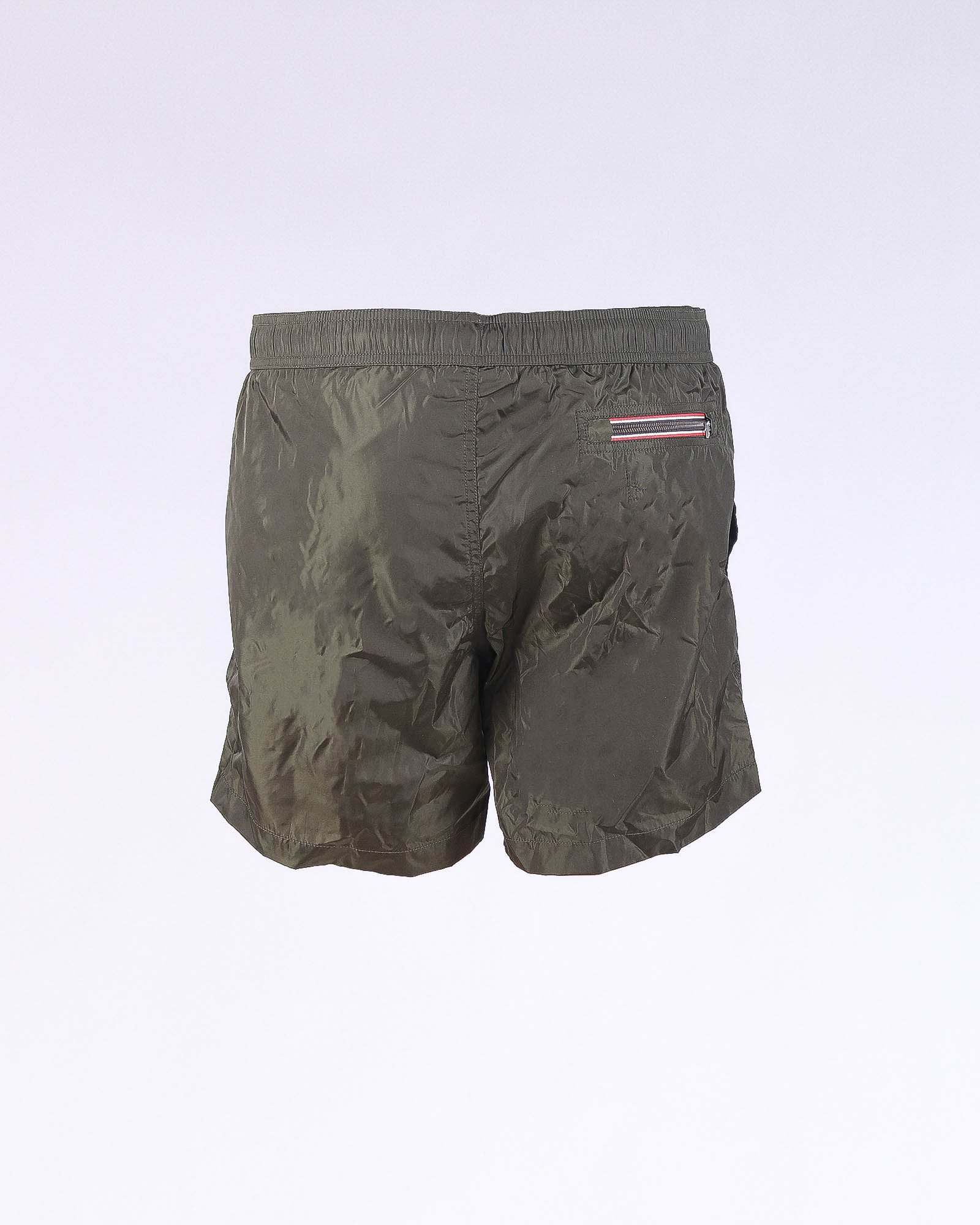Moncler Green swim short