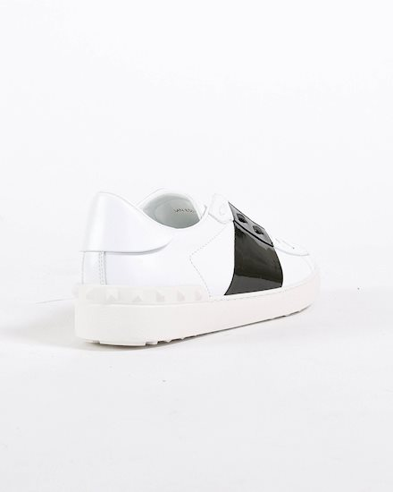 af3129363c7 VALENTINO White sneaker with a green band - Artishock Luxury and exclusive  fashion
